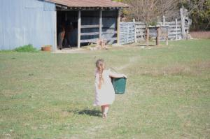Farm child